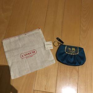 NWT coach coin bag